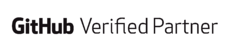 GitHub Verified Partner - white-SQUARE